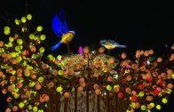 台中燈會光之樹點燈揭幕 基督教燈區浪漫登場